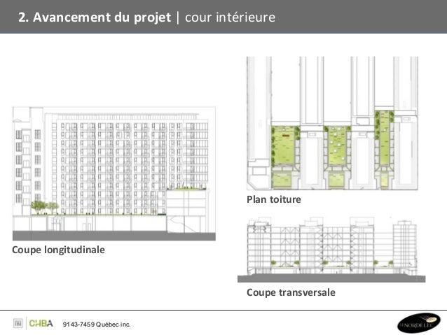 2. Avancement du projet   cour intérieure                                                         Plan toi...