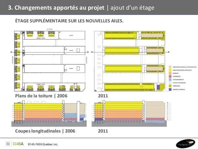 3. Changements apportés au projet   ajout d'un étage    ÉTAGE SUPPLÉMENTAIRE SUR LES NOUVELLES ...