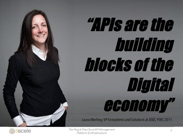"""The Plug & Play Cloud API Management Platform & Infrastructure """"APIs are the building blocks of the Digital economy"""" Laura..."""