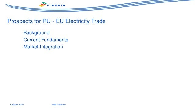 Russia as a part of the baltic sea energy market for Eplan for drivers