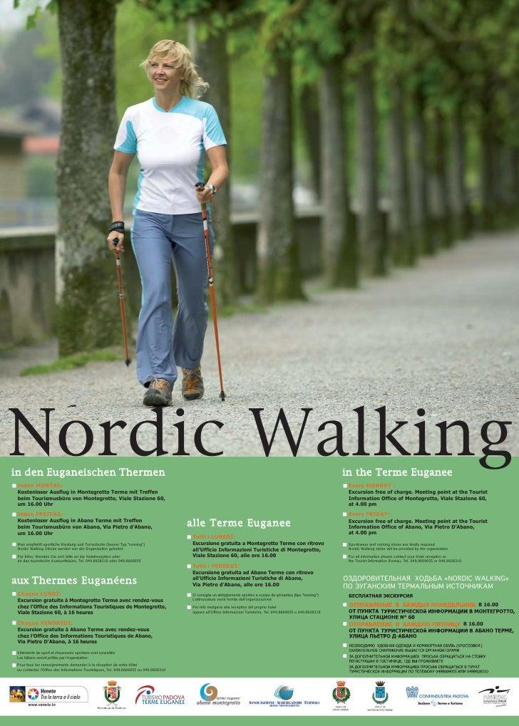 Nordic Walkingi n den Euganeischen Thermen                                                                                ...