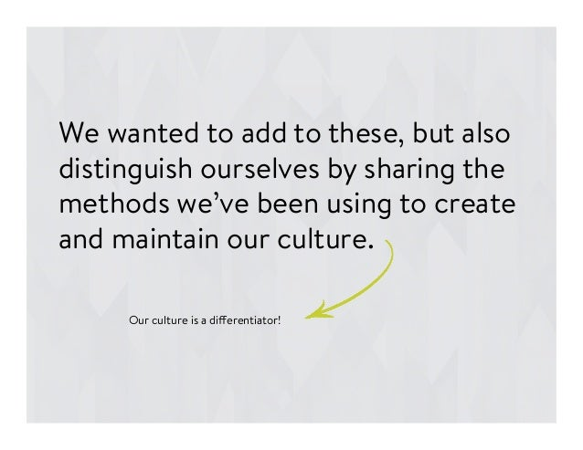 We wanted to add to these, but also distinguish ourselves by sharing the methods we've been using to create and maintain o...