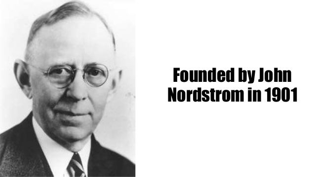 Founder of Nordstrom