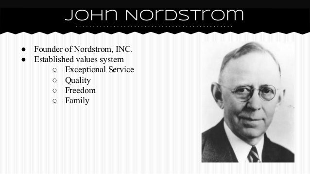 Founder of Nordstrom