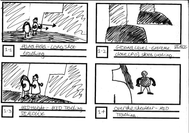 Story Boards For Superhero Thing