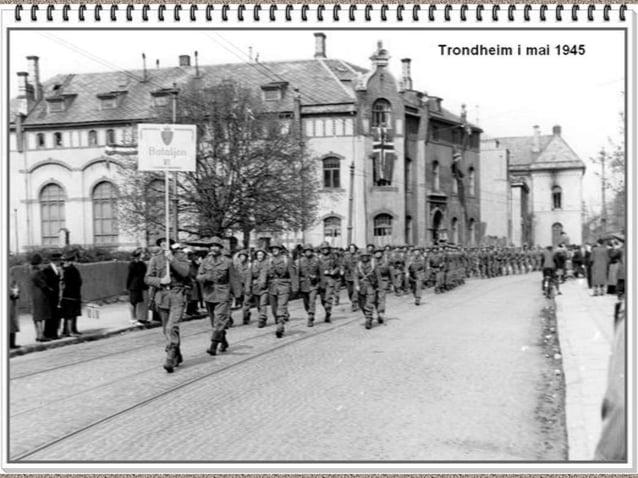 Norge Bilder -  andra världkriget bildspel