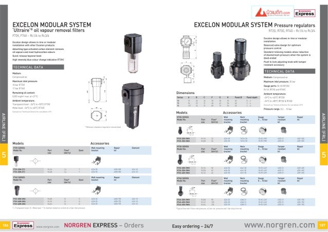 Norgren FLR unit Regulator F72V