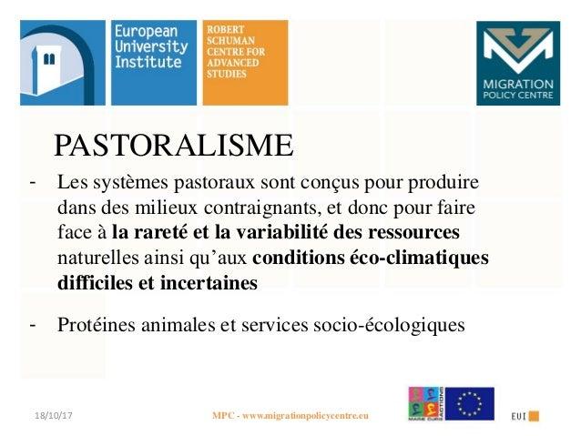Changement climatique et pastoralisme en Méditerranée et au-delà - NORI Slide 2
