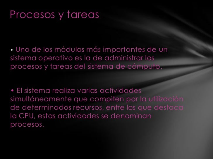 gestion de procesos Slide 2