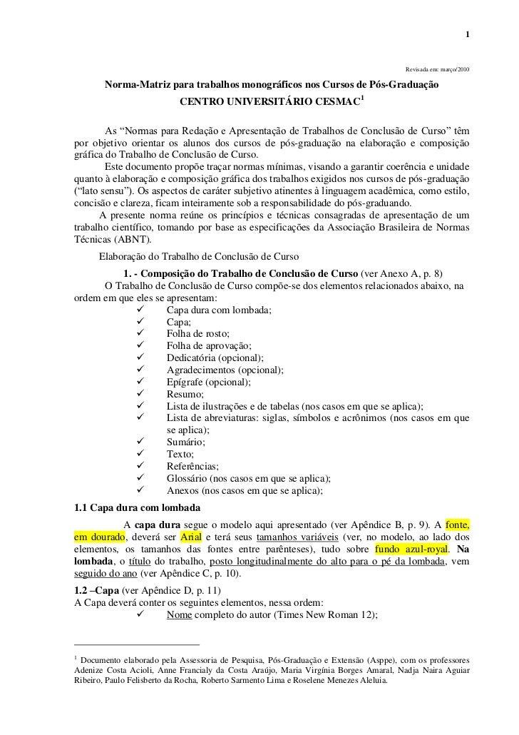 Norma matriz para tcc v-2010 cesmac[1]