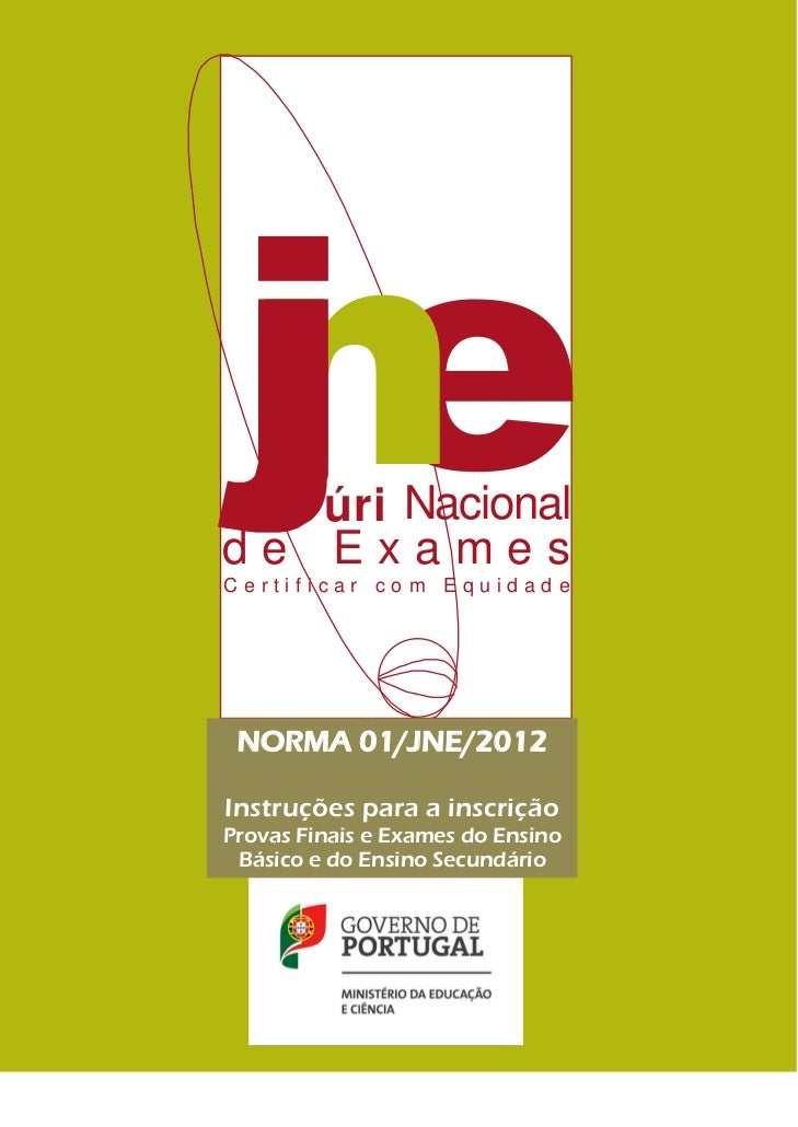 úri Nacional    de Exames    Certificar co m Equ idad e                           Rel...