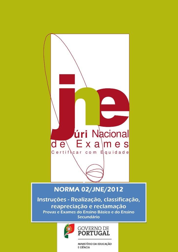 úri Nacional                      de Exames                       Certificar co m Equ idad e                              ...