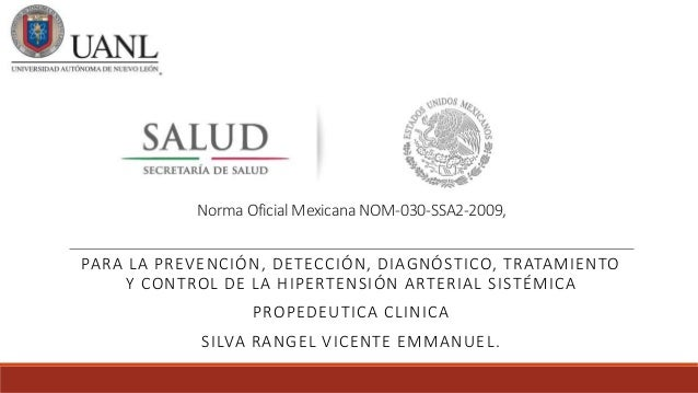 Norma Oficial Mexicana De Hipertension Arterial Pdf