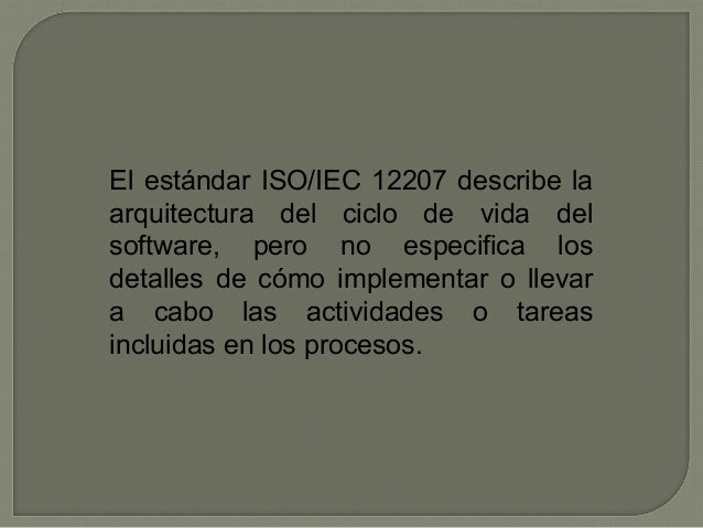 Norma 12207 Slide 3