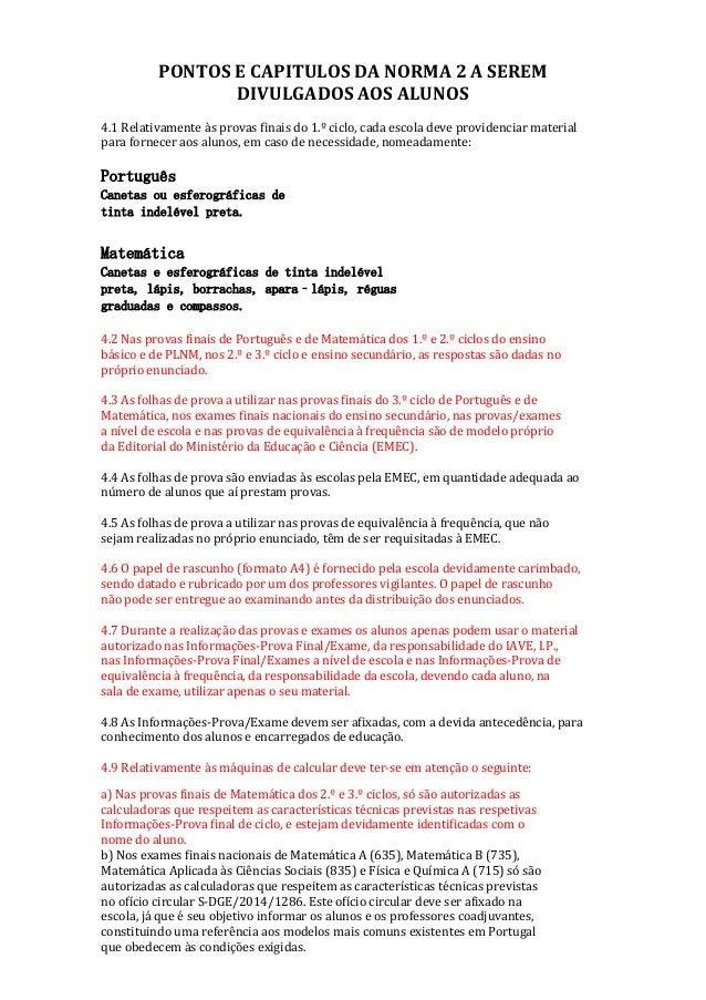 4. MATERIAL ESPECÍSSSSSSSSFICOOOOOOOOOOOGGFCGCAUTORIZADOPDDD PONTOS E CAPITULOS DA NORMA 2 A SEREM DIVULGADOS AOS ALUNOS 4...