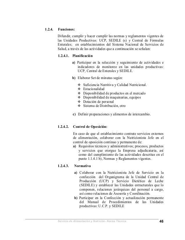 Normaalimentacionnutricion2005final for Manual de procedimientos de una empresa de alimentos