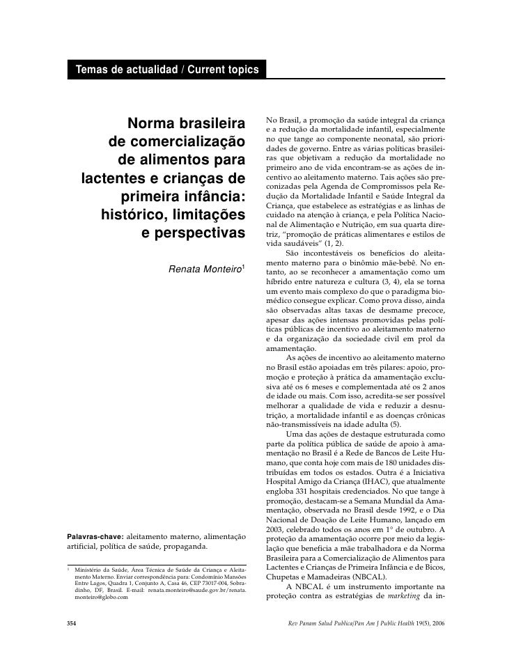 Temas de actualidad / Current topics                                                                            No Brasil,...
