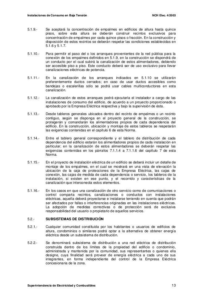 Norma chilena 4 2003