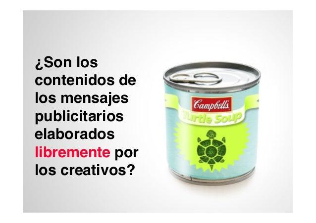El contenido del mensaje en la estrategia creativa Slide 2