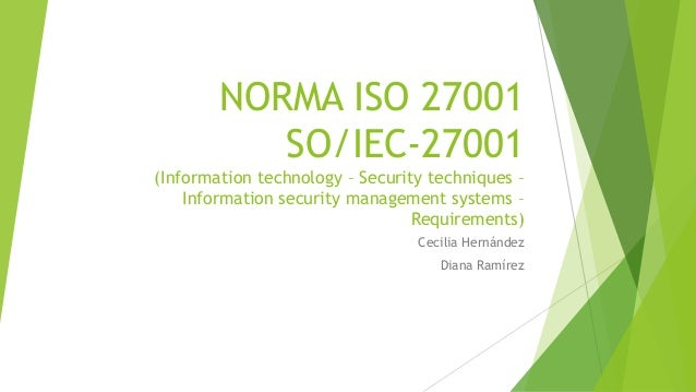 iso iec 27001 information security management pdf