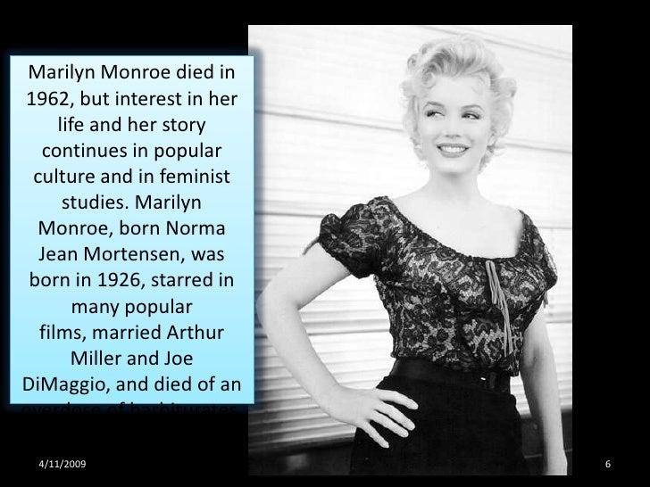 Norma Jean Mortensen(Marilyn Monroe Quotes