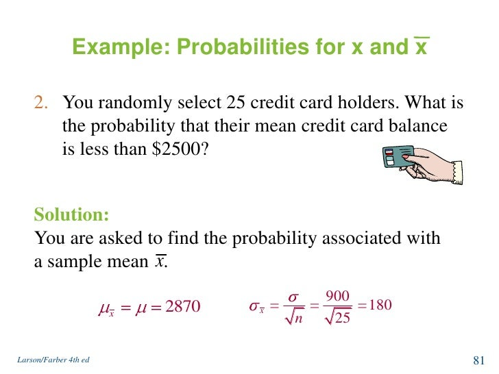 Normal distribution and sampling distribution 81 example probabilities ccuart Images
