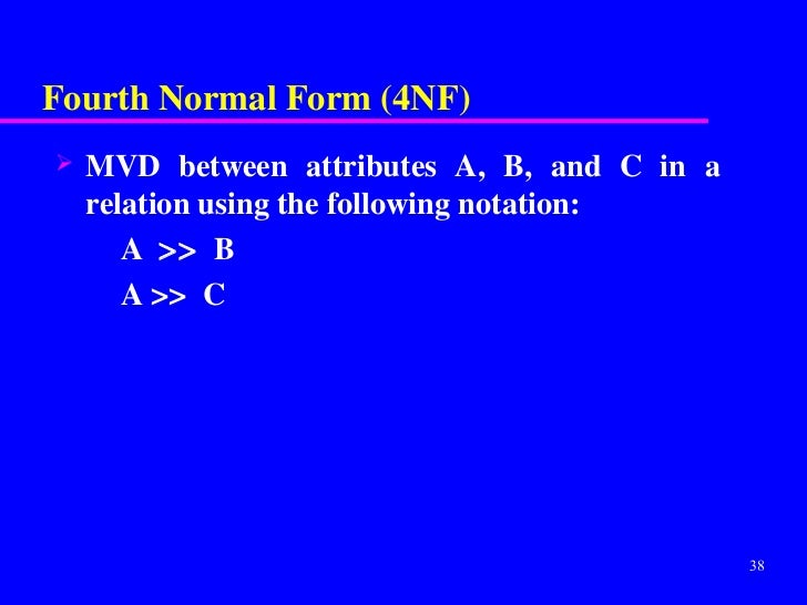 normalisation-slides-1-nf-to-5nf-38-728  Th Normal Form Example on domain/key normal form, third normal form, point slope form examples, slope-intercept form examples, exponential form examples, second normal form, sixth normal form, fifth normal form, first normal form, boyce–codd normal form, vertex form examples,