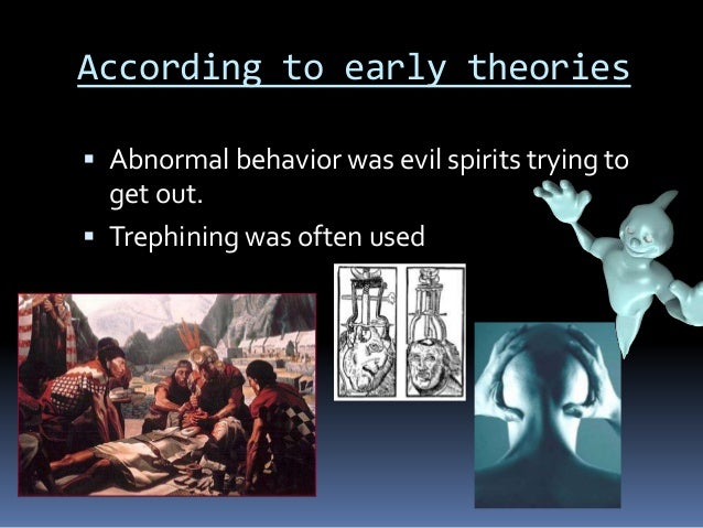 """abnormal behavior in religion Or when a person was engaged in a behavior that was contrary to a religion """"references to abnormal behavior in early 2007) abnormal psychology."""