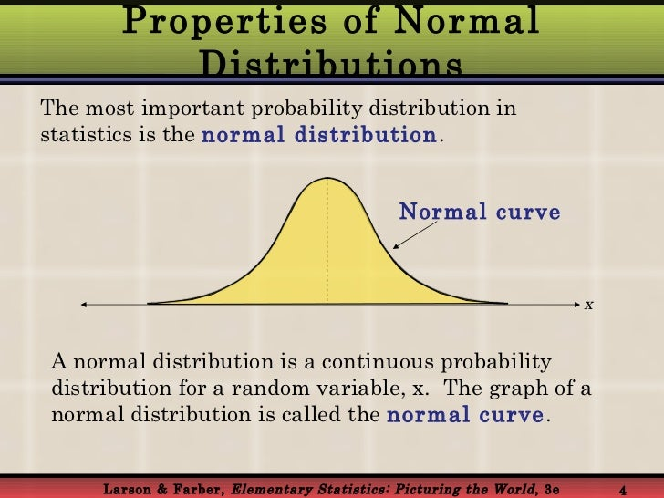 data normal distribution and probability This distribution is known as the normal distribution (or, alternatively, the gauss distribution or bell curve), and it is a continuous distribution having the following algebraic expression for the probability density.
