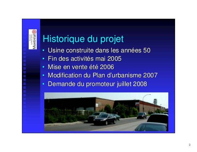 Normampac   présentation arrondissement rosemont Slide 2