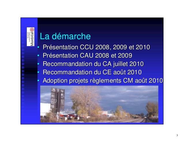 Normampac   présentation arrondissement rosemont Slide 3