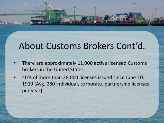 Becoming a Customs Broker by Norman Harris III
