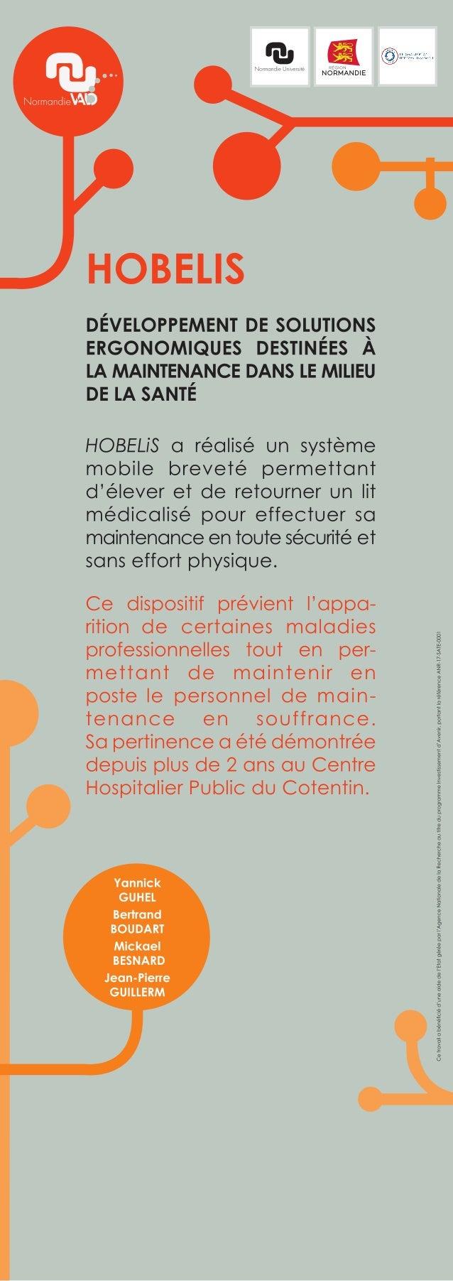 Hobelis, une entreprise en création