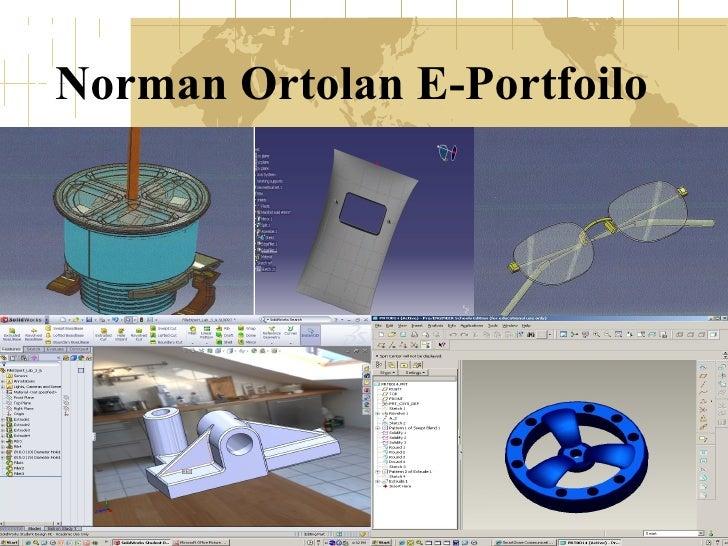 Norman Ortolan E-Portfoilo