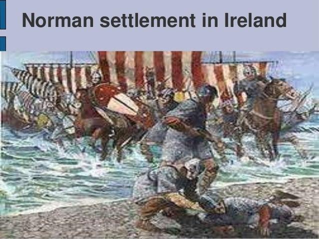 Norman settlement in Ireland