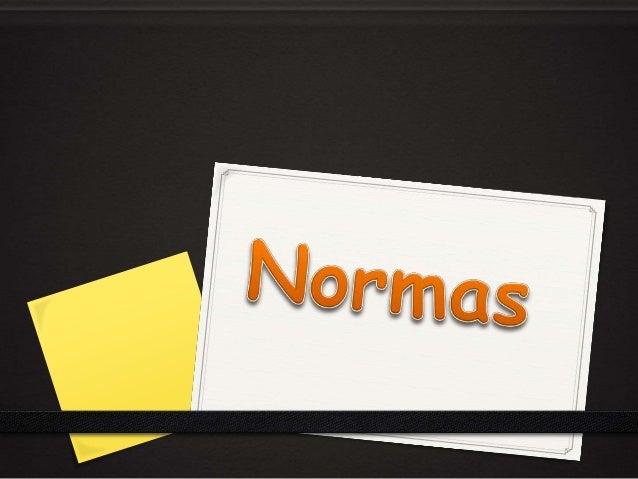 Una norma es un documento de aplicación voluntaria que contiene especificaciones técnicas basadas en los resultados de la ...