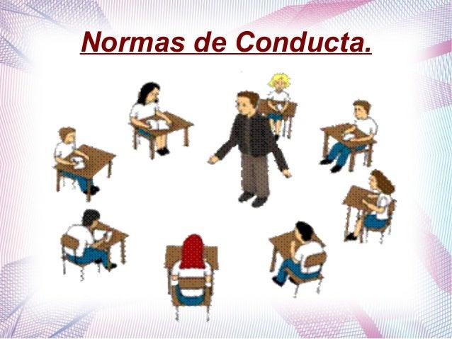 Normas de Conducta.