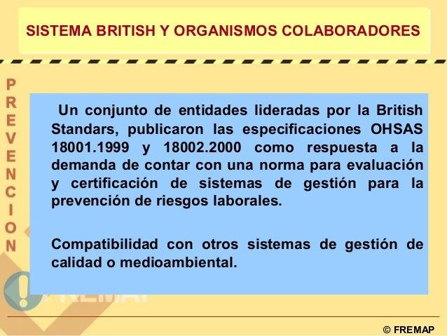 Normas ohsas 18001 prevencion de riesgos laborales for Riesgos laborales en una oficina