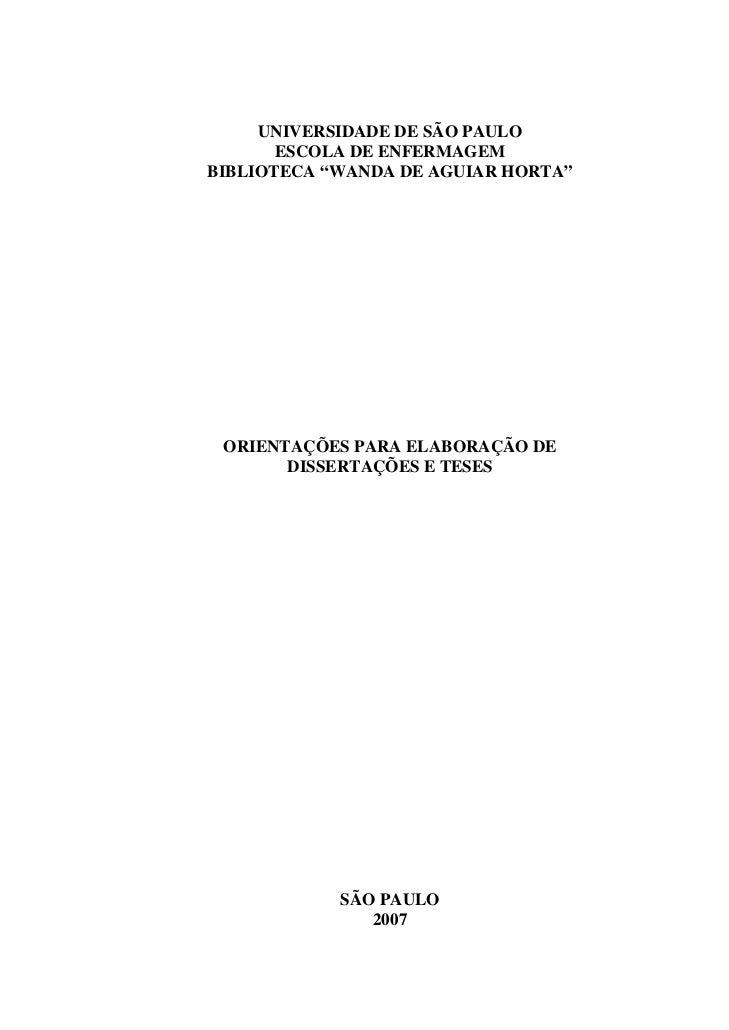 Monografia normas abnt