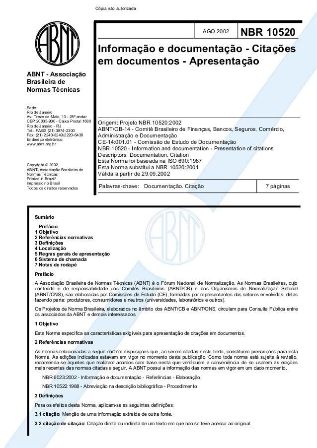 Cópia não autorizada                                                                                  AGO 2002         NBR...
