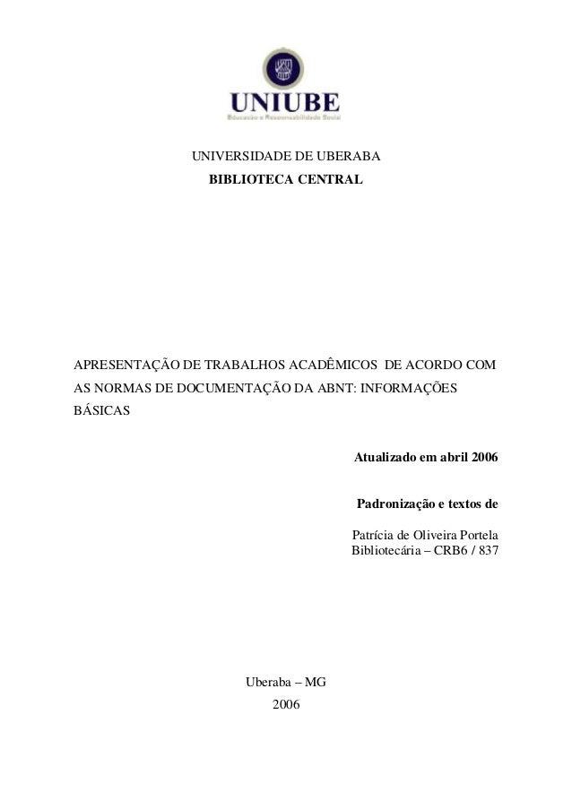 Slides para apresentação de trabalhos academicos