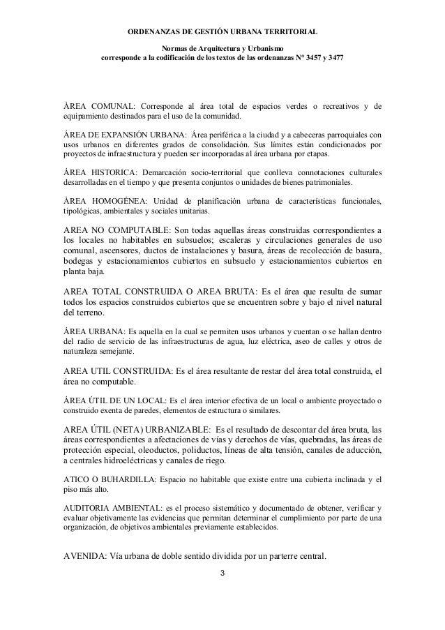Normas arquitectura y urbanismo ECUADOR Slide 3