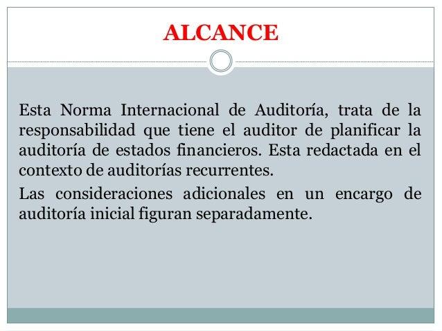NORMAS DE AUDITORIA FINANCIERA  Slide 3