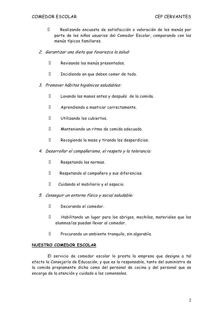 Normas comedor 10 11 - Servicios de comedor para empresas ...