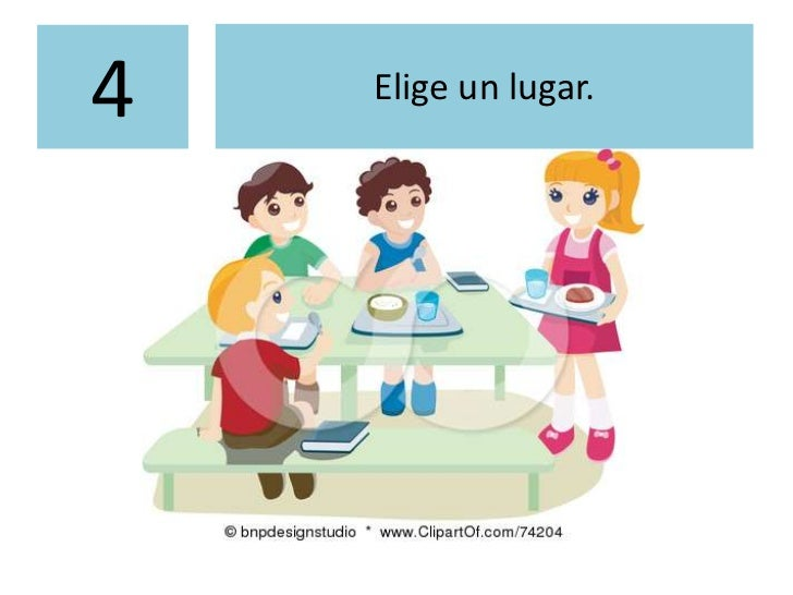 Normas de convivencia del comedor for Como mantener silencio en un comedor escolar