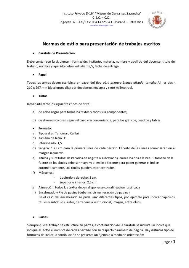 "Instituto Privado D-164 ""Miguel de Cervantes Saavedra""                                                C.B.C. – C.O.       ..."