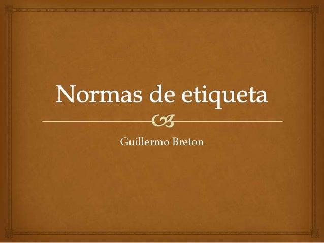 Guillermo Breton