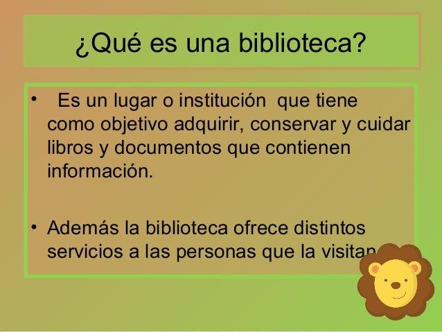 Tipos de biblioteca y normas a seguir for Partes de una biblioteca