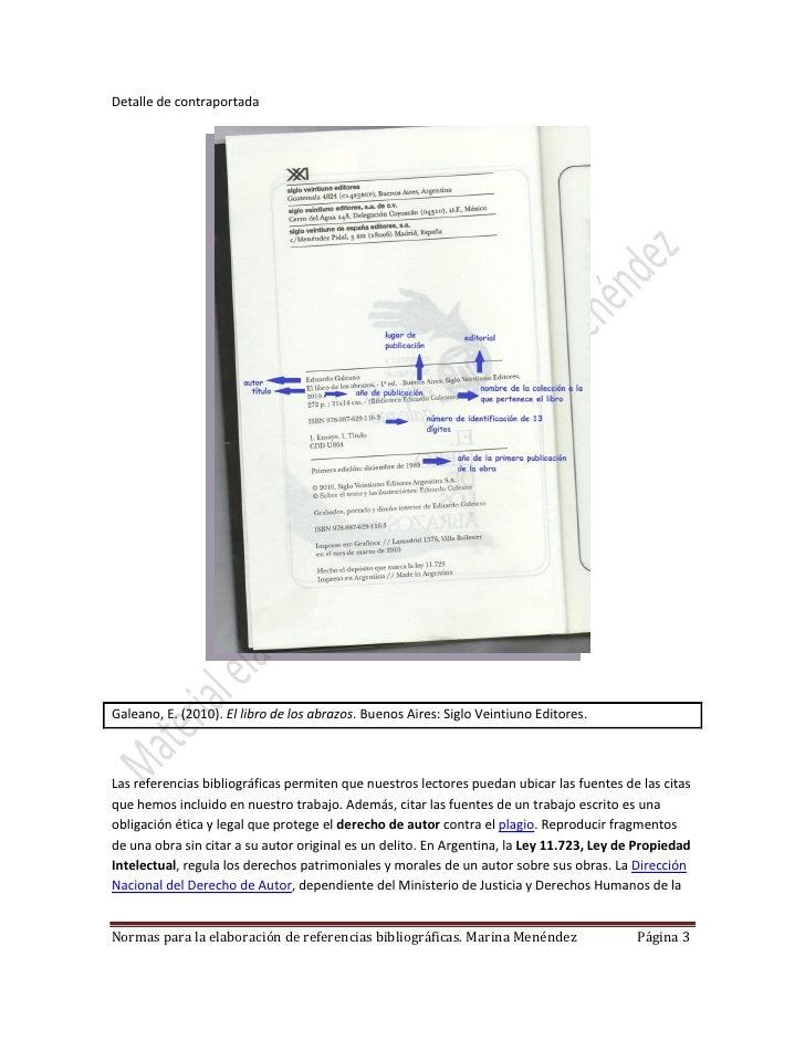 Referencias bibliográficas Slide 3