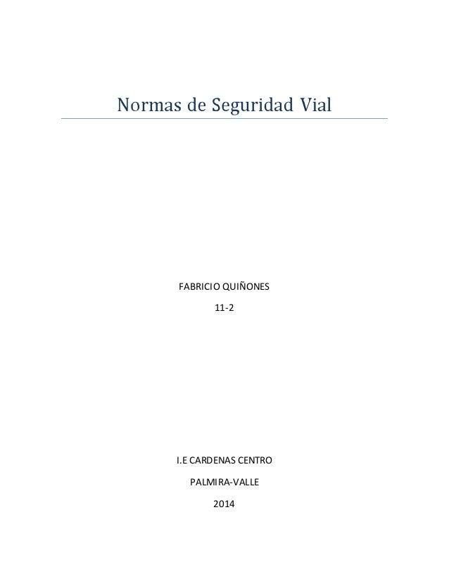 FABRICIO QUIÑONES 11-2 I.E CARDENAS CENTRO PALMIRA-VALLE 2014